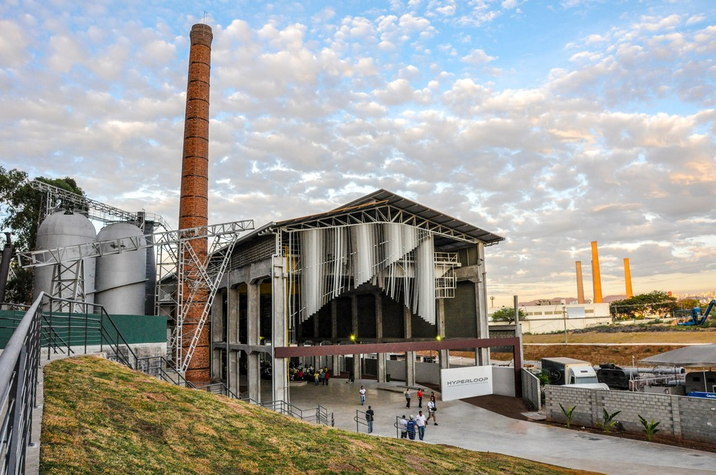 Centro de pesquisa da Hyperloop será em Contagem (MG) (Foto: Divulgação)