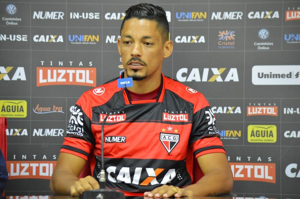 Tomas Bastos vai defender as cores do Dragão no Goinão 2018 (Foto: Paulo Marcos/Atlético-GO)