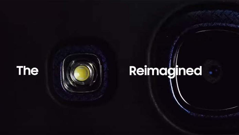 Samsung promete uma nova experiência com o uso da câmera do S9 (Foto: Reprodução/ YouTube)