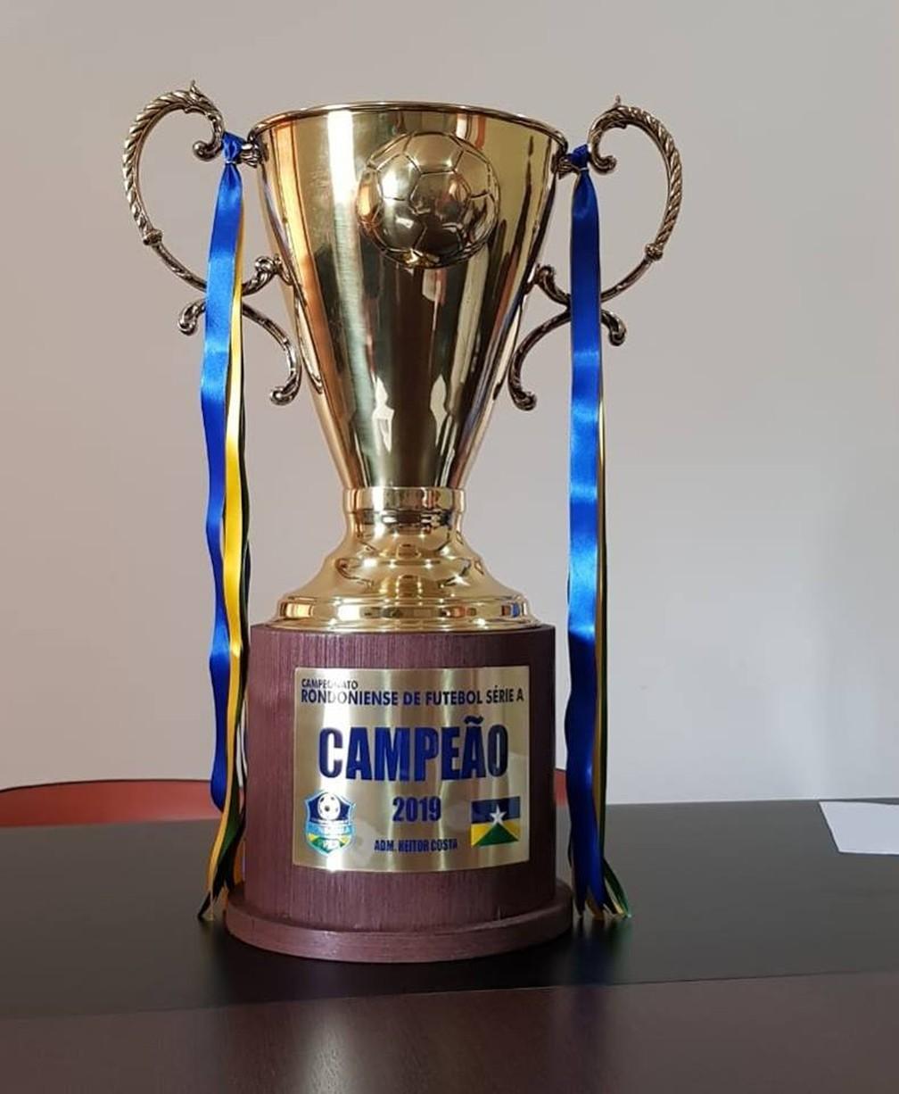 Disputado Por Dez Clubes Trofeu Do Campeonato Rondoniense 2019 E Apresentado Pela Ffer Ro Ge