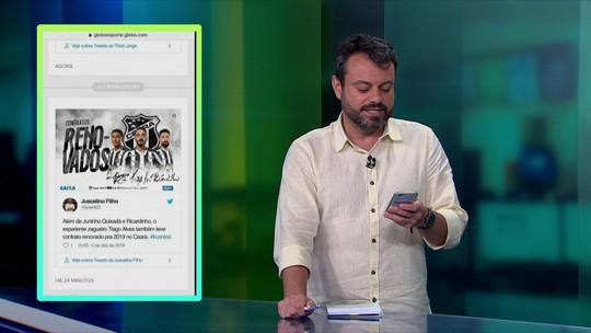 """""""Central do Mercado"""" mostra especulações envolvendo times da Série A"""