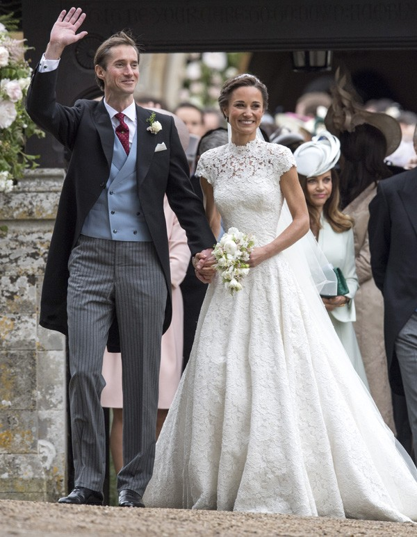 Os noivos Pippa Middleton e James Matthews (Foto: Getty Images)