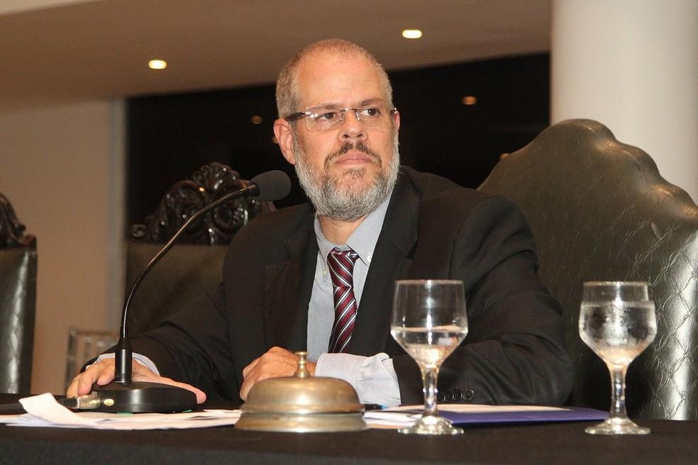 Roberto Monteiro, presidente do Conselho Deliberativo do Vasco, é acusado de agressão  — Foto: Paulo Fernandes/Vasco.com.br