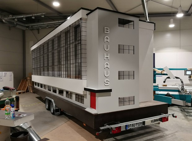 Projeto do ônibus Bauhaus (Foto: Facebook / savvyberlin)