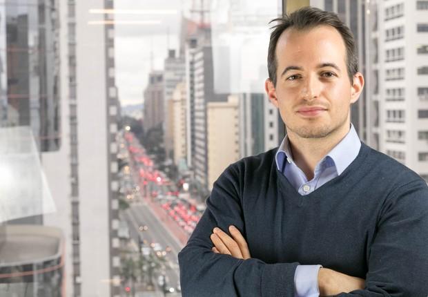 Miklos Grof, autor do Global Accelerator Report, levantamento das aceleradoras de startups. Ele está fazendo uma edição especial sobre o Brasil, em parceria com a Época NEGÓCIOS (Foto: Divulgação)