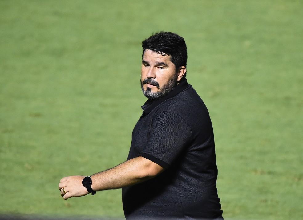Barroca em Fluminense x Botafogo — Foto: André Durão
