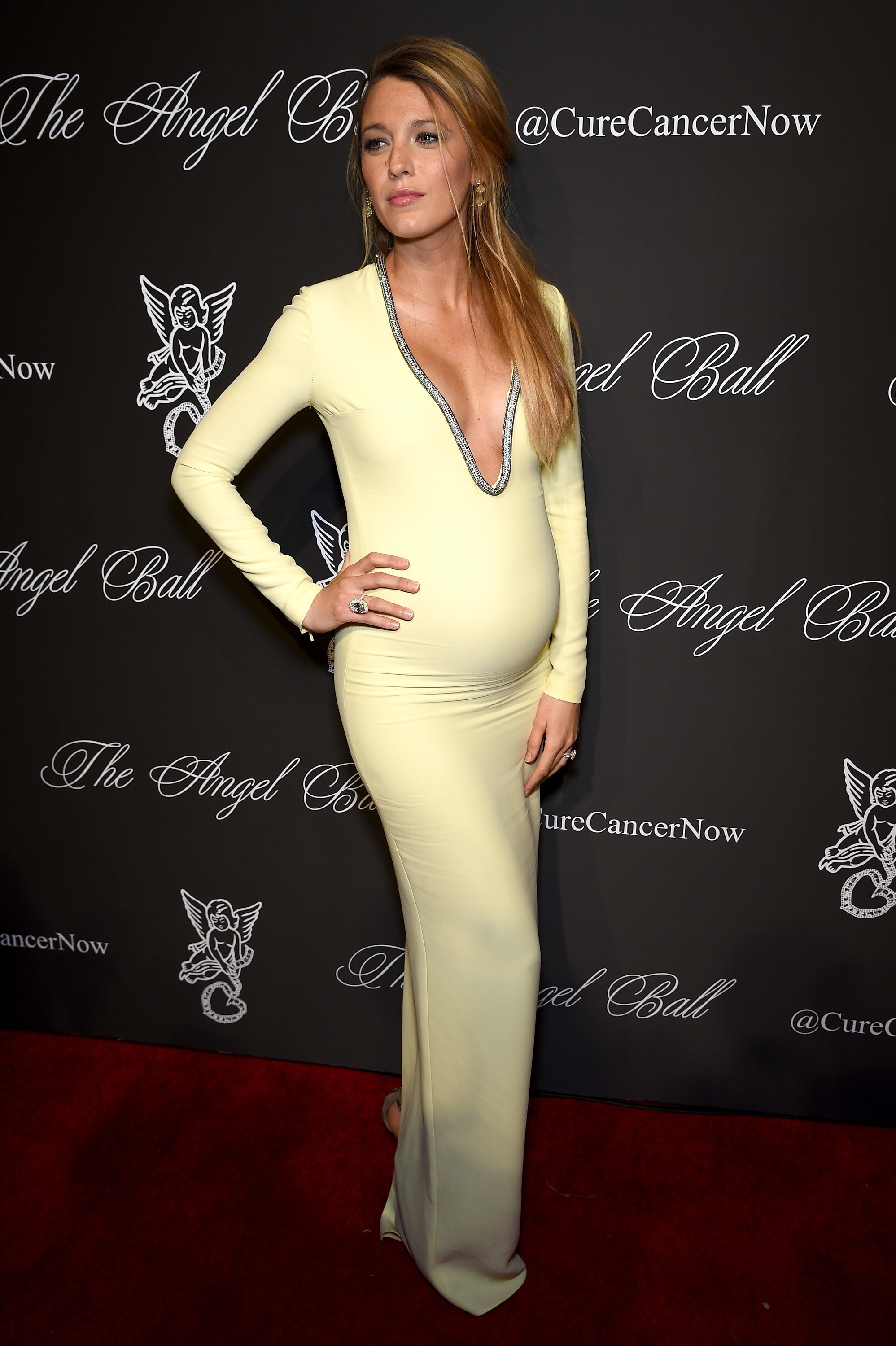 Blake Lively no Angel Ball 2014 (Foto: Getty Images)