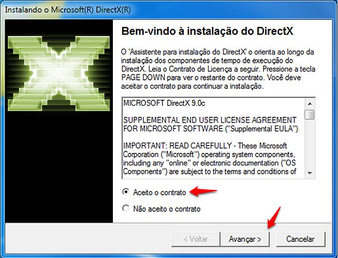 Como baixar o DirectX 9 no Windows 7, Windows 8 e Windows 10 ...