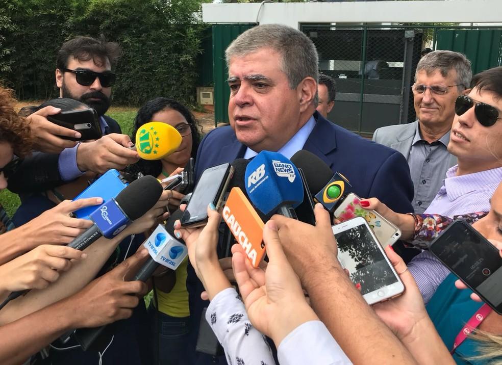 O ministro Carlos Marun, da Secretaria de Governo (Foto: Bernardo Caram/G1)