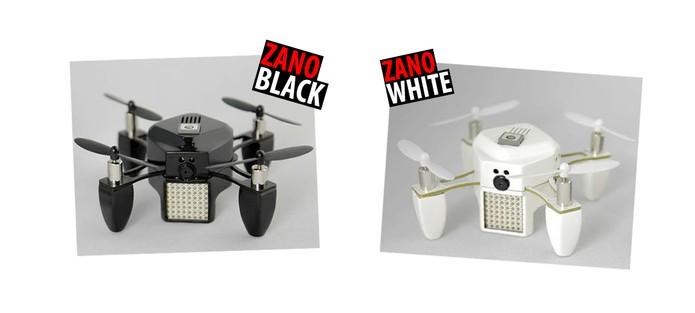 Zano está disponível em duas cores (Foto: (Reprodução/Kickstarter))