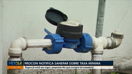 Procon de Maringá dá prazo de 24 dias  para Sanepar se adequar à lei municipal que proíbe cobrança de taxa mínima
