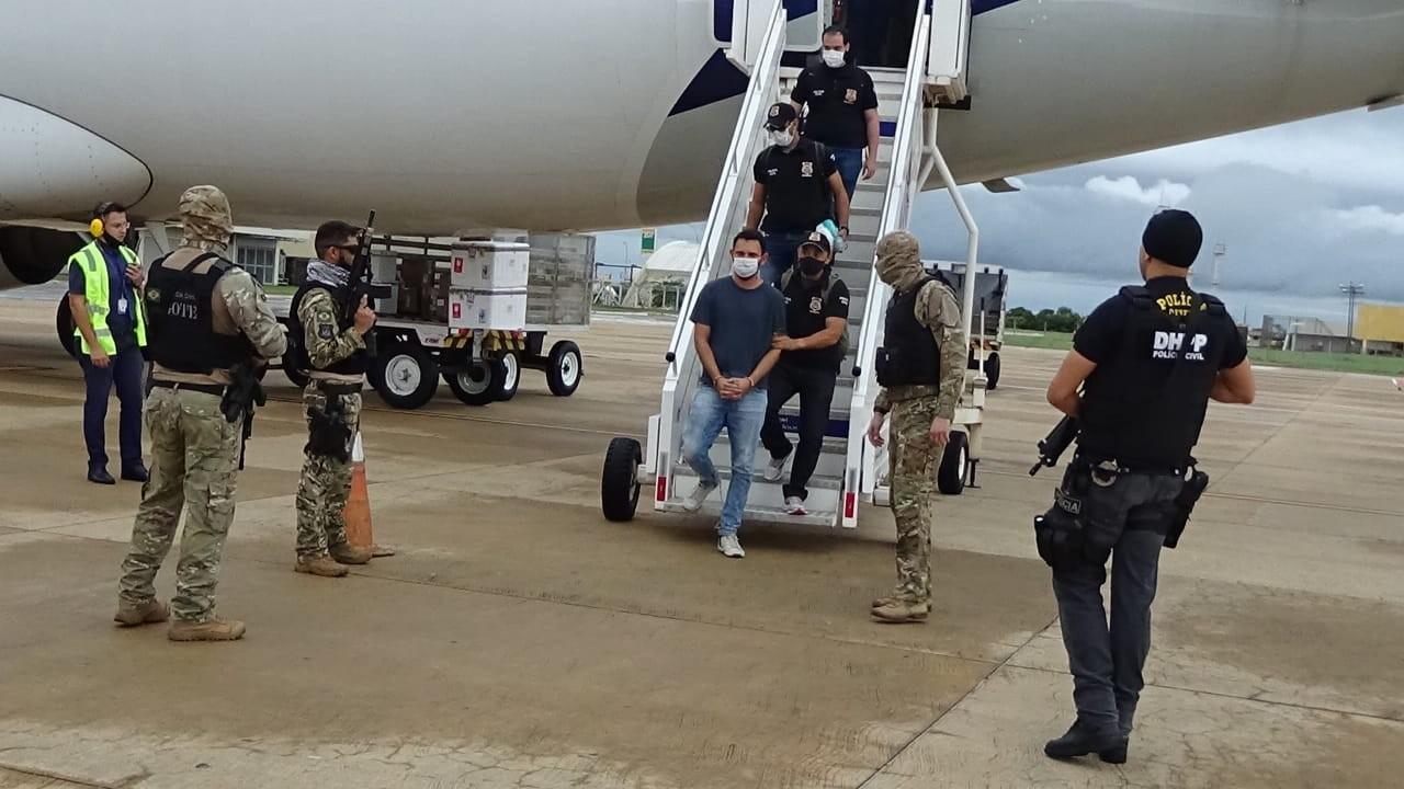 Ex-policial suspeito de matar advogado e fugir de batalhão da PM é transferido para o Tocantins