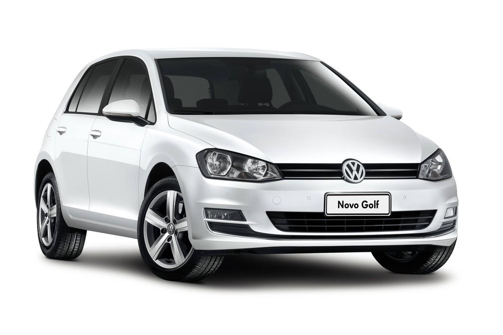 Volkswagen Golf — Foto: Divulgação/Volkswagen