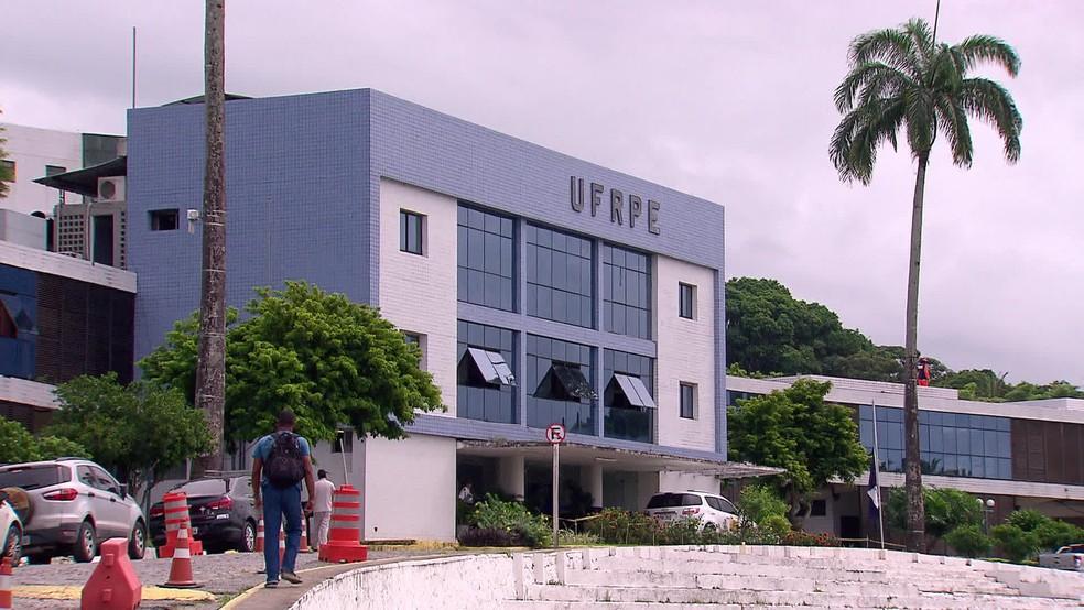 Universidade Federal Rural de Pernambuco (UFRPE) fica na Zona Norte do Recife — Foto: Reprodução/TV Globo