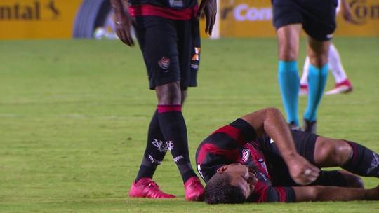 Com fratura no pé, André Lima desfalca o Vitória por três meses
