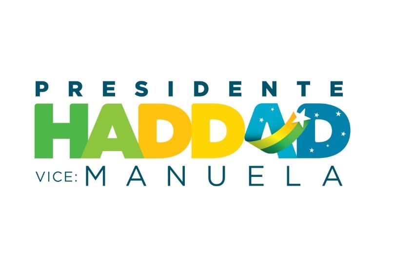 Nova logomarca da campanha de Haddad