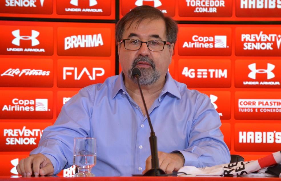 Marco Aurélio também passou pela diretoria do São Paulo nesse período (Foto: Rubens Chiri / site oficial do São Paulo FC)