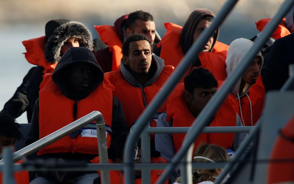 Proposta do Partido Conservador espanhol visa atrair votos de eleitores conservadores em relação à imigração — Foto: Reuters/Darrin Zammit Lupi