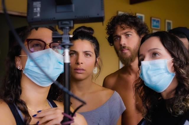 Equipe do curta 'Plantando retalhos' (Foto: Divulgação)