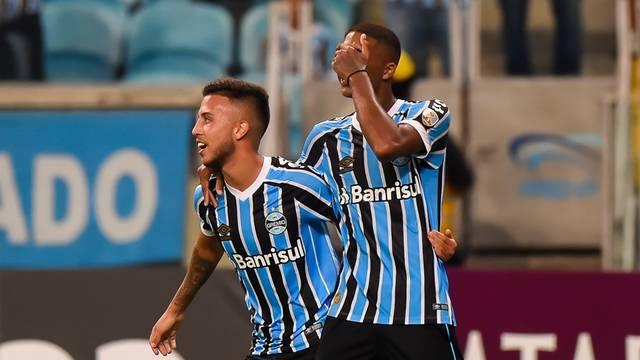 Grêmio x Rosario Central Arena Libertadores gol Jean Pyerre