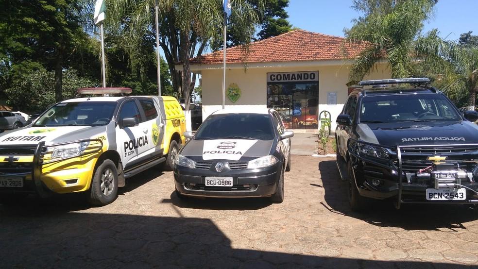 Operação foi deflagrada em Santa Isabel do Ivaí e Planaltina do Paraná — Foto: Polícia Civil/Divulgação