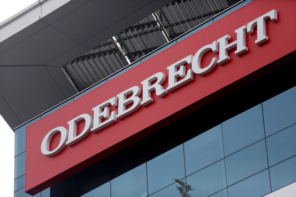 Prédio da Odebrecht em Lima, no Peru — Foto: Reuters/Janine Costa