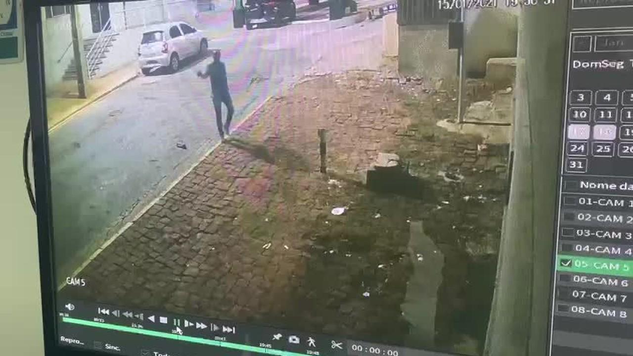 Rafik Samir Feguri foi flagrado por câmera atirando contra morador em Cuiabá