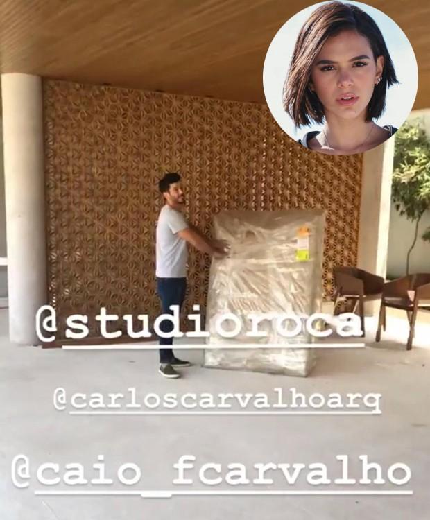 Bruna Marquezine mostra casa nov (Foto: Instagram/ Reprodução)