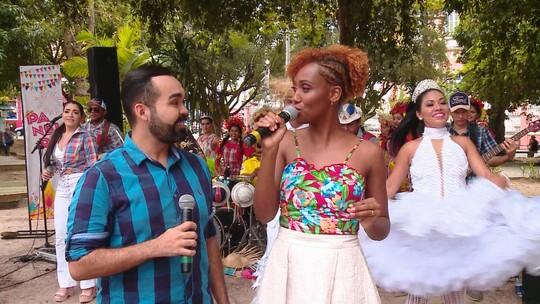 'Paneiro' faz festa junina no Centro de Manaus; reveja