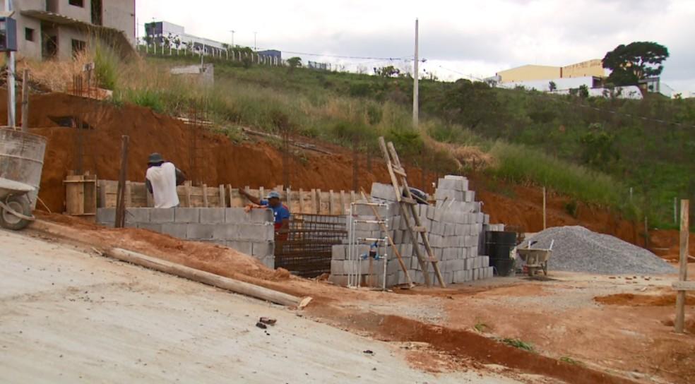 Construção civil apresentou melhora na geração de empregos nos 6 primeiros meses do ano (Foto: Reprodução EPTV)