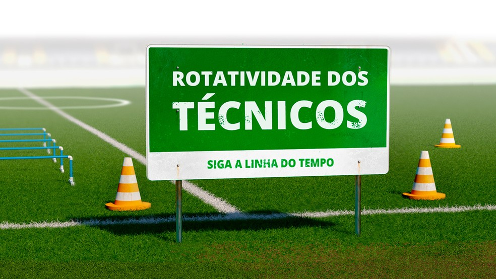 A rotatividade dos técnicos no Brasil foi três vezes maior que em principais ligas da Europa nesta década — Foto: infoesporte