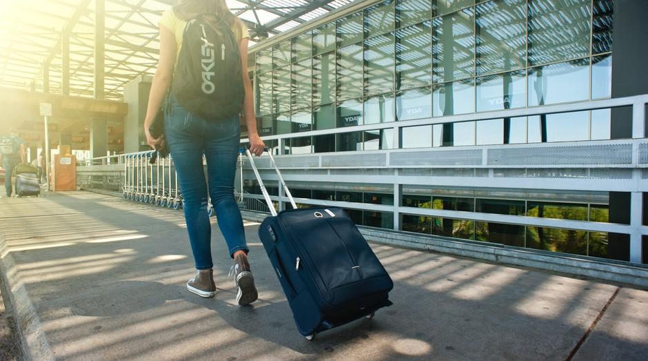 aeroporto, viagem (Foto: Reprodução/Pexels)