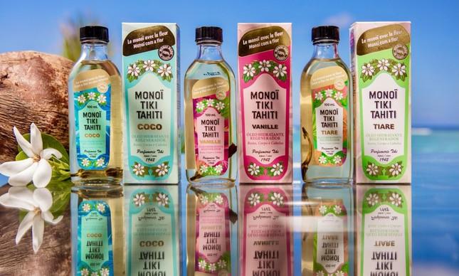 Monoi Tiki : óleos com planta da Polinésia
