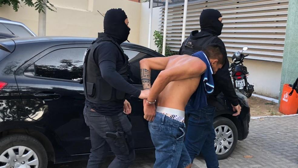Operação contou com atuação de mais 100 policiais em Sobral — Foto: Mateus Ferreira/TV Verdes Mares