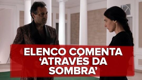 Domingos Montagner fala de seu personagem em 'Através da Sombra'