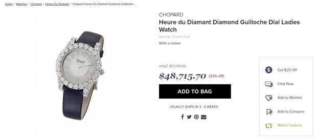 Relógio de mais de 72 mil dólares usado por Rihanna (Foto: Reprodução)