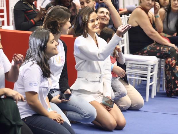 Bruna Marquezine brilha em evento beneficente (Foto: Manuela Scarpa/Brazil News)