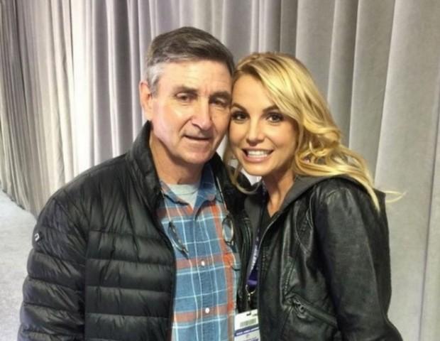 Britney e seu pai (Foto: Reprodução/Instagram)