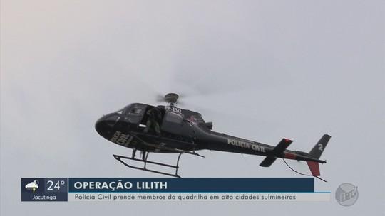 Operação contra tráfico de drogas termina com 46 pessoas presas no Sul de MG e no Mato Grosso do Sul