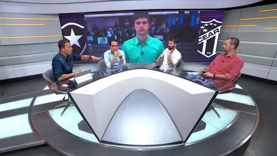 """""""Nem sempre vão ter quatro times piores que esse Botafogo"""", diz Rizek"""