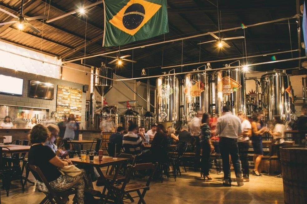 Hop Capital Beer — Foto: Agência Storica