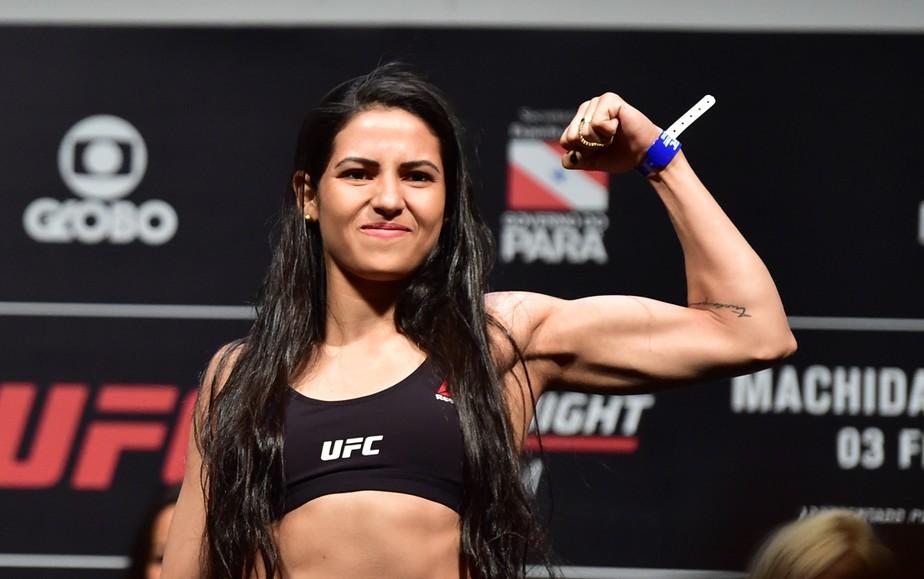 Lutadora do UFC Polyana Viana reage a assalto, domina o ladrão e ...