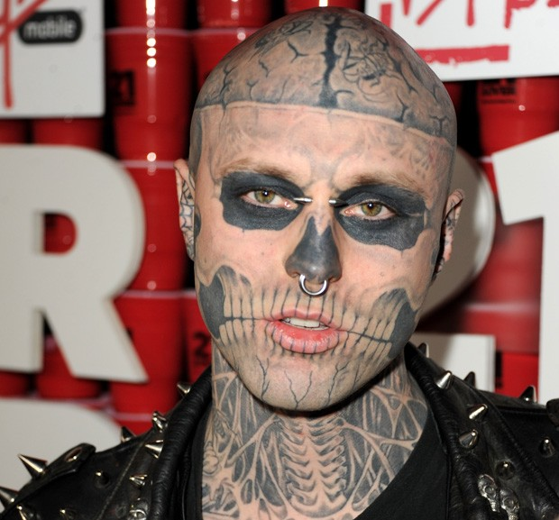 Rick Genest, o Zombie Boy (Foto: Getty Images)