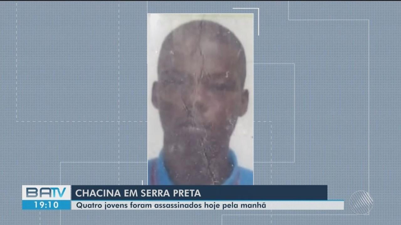 Quatro jovens são mortos a tiros na zona rural do município de Serra Preta