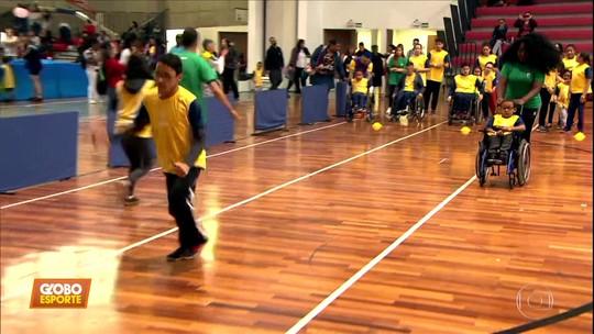 Festival paralímpico agita várias cidades do Brasil no sábado
