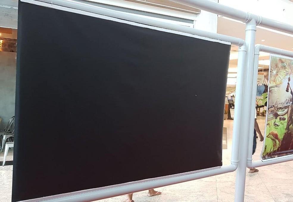 -  Obra de artista é retirada de exposição  Foto: Reprodução do Facebook do artista