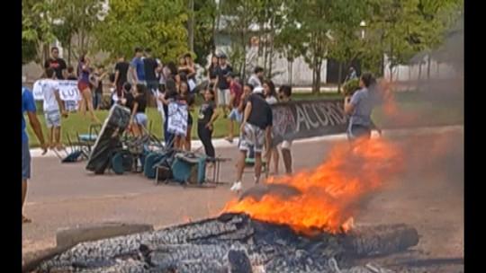 Estudantes da Uepa continuam ocupando campus em Paragominas