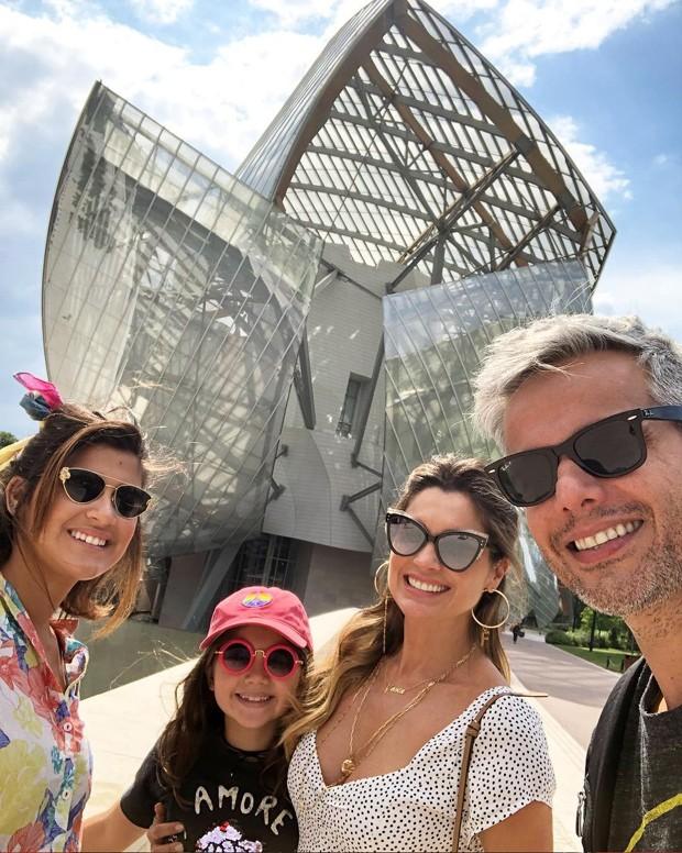 Giulia Costa, Olívia, Flávia Alessandra e Otaviano Costa (Foto: Reprodução Instagram)