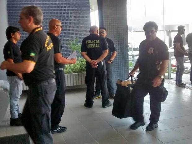 """Polícia Federal deflagra operação """"For All"""", que investiga grupo empresarial de Forró (Foto: Gioras Xerez/G1)"""