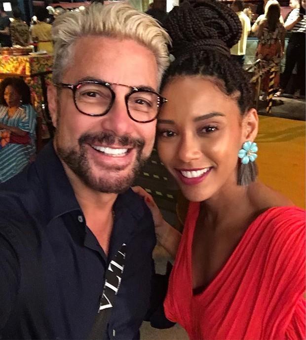 Taís Araujo com Fernando Torquatto (Foto: Reprodução/Instagram)